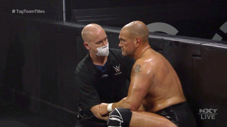 Danny Burch Suffers a Shoulder Injury – TPWW