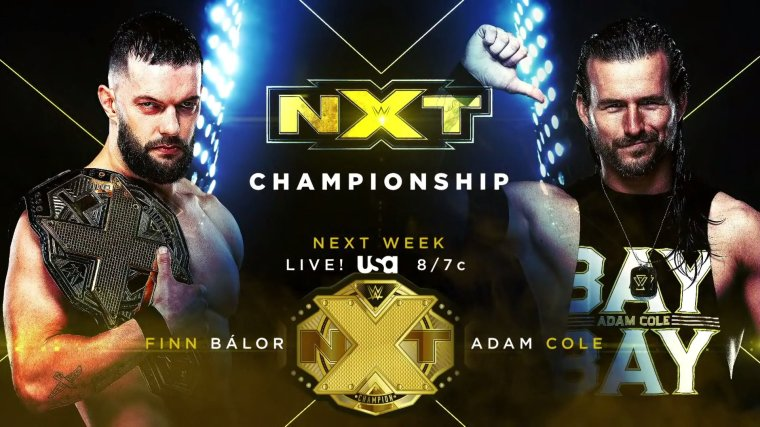 NXT Championship and NXT Women's Championship Matches Booked for Next Week's NXT