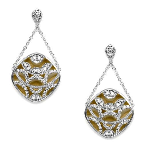 Tacori Diamond Earrings Platinum Fine Jewelry FE656