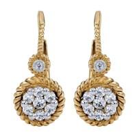Gabriel Fashion 14 Karat Two-Tone Hampton Diamond ...