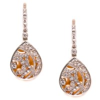 Tacori Diamond Earrings Platinum Fine Jewelry FE624 | TQ ...
