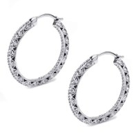Tacori Diamond Earrings Platinum Fine Jewelry FE596 | TQ ...