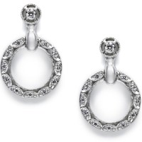 Tacori Diamond Earrings Platinum Fine Jewelry FE557 | TQ ...