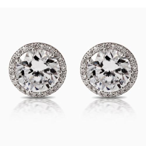 Tacori Diamond Earrings Platinum Fine Jewelry FE67075