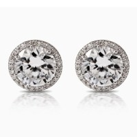 Tacori Diamond Earrings Platinum Fine Jewelry FE67075