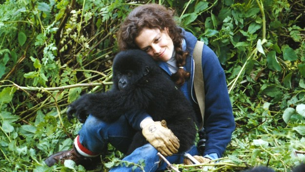 Sigourney Weaver and friend:  'I'm Just Wild about Hairy.'