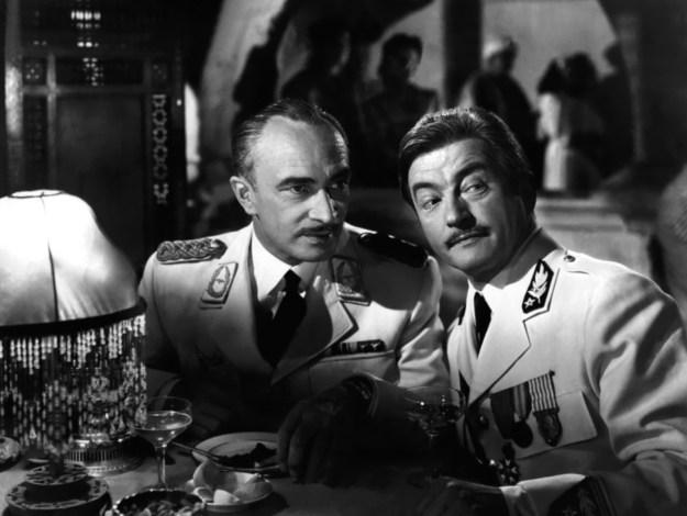 Conrad Veidt, Claude Rains