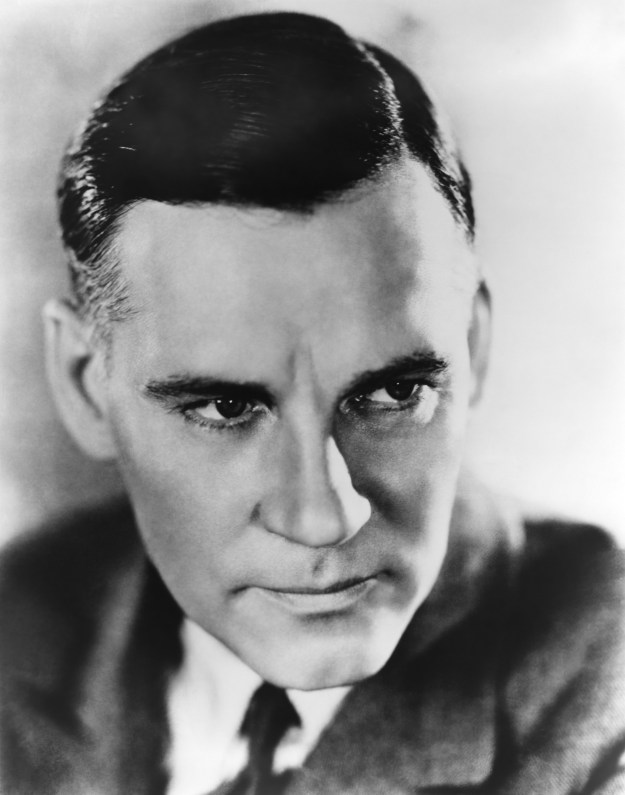 Walter Huston:  'Son, always give 'em a good show and travel first class.'