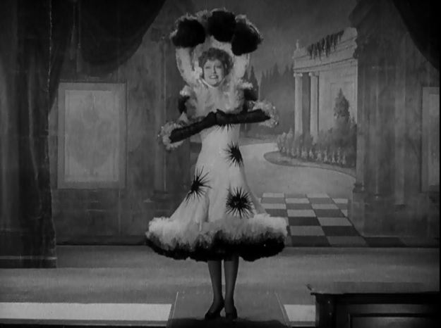 Jeanette MacDonald: Swing out, sister! She's a good sport, I'll give her that.
