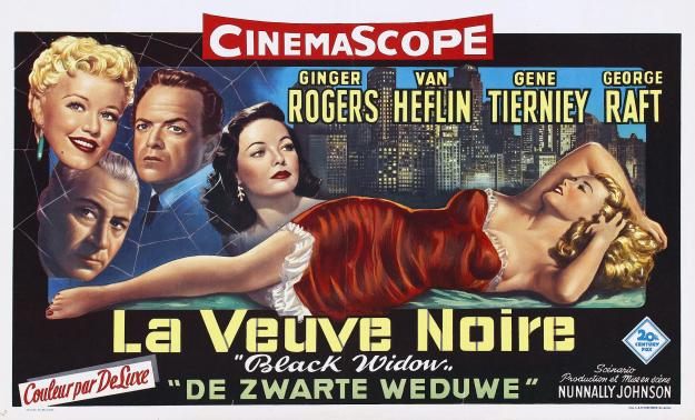 Original poster for Belgian release. (It's funnier in French and Dutch.)
