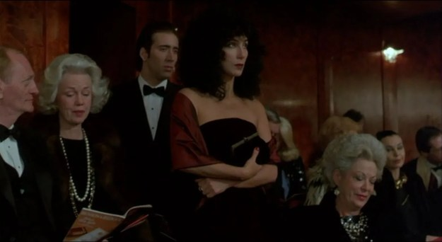 Nicolas Cage, Cher: Cinderella goes to the ball.