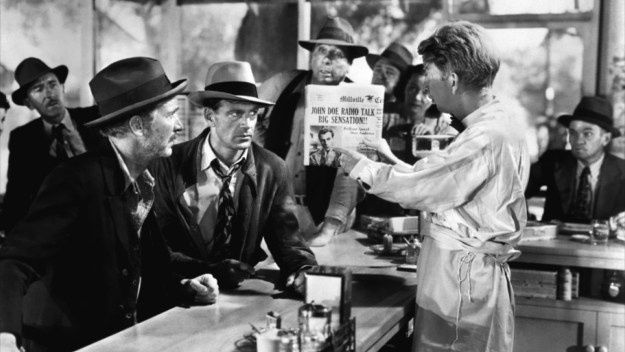 Walter Brennan, Gary Cooper, Sterling Holloway: Doe boys.