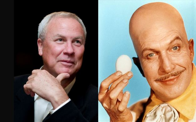 Separated at birth? Pudd'nhead Wilson, Egghead