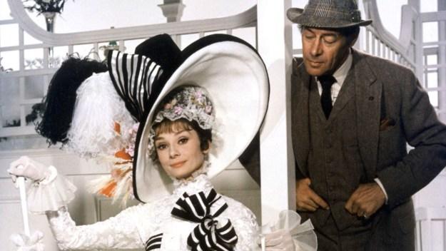 Audrey Hepburn, Rex Harrison: