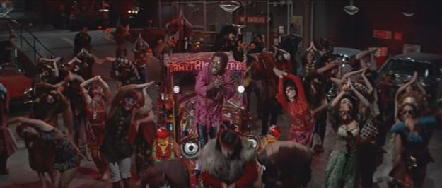 Sammy Davis Jr & the Bob Fosse Frugsters. Doc Simon puts the deli in psychedelic.