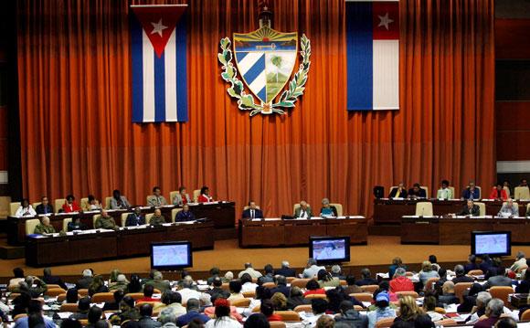 Resultado de imagen para sesion extraordinaria asamblea nacional cuba