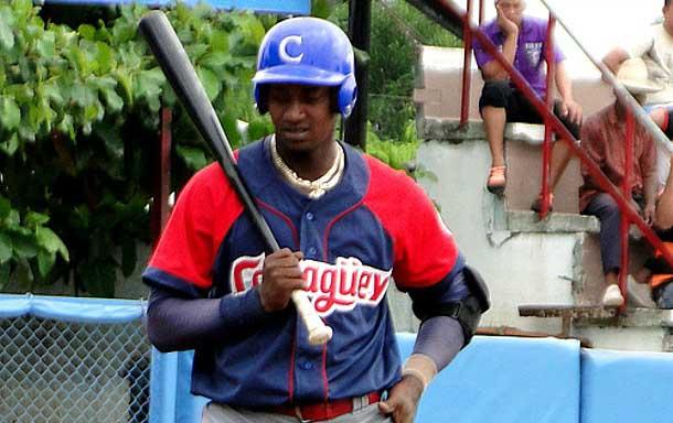 Allexander  Ayala. torpedero y cuarto bate de Camagüey.
