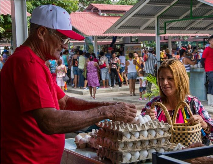 La rehabilitación de los mercados es solo la cara más visible de un conjunto de inversiones que se ha extendido además al transporte, los almacenes y el resto de la infraestructura vinculada a la comercialización de productos agropecuarios.Foto: Leandro A. Pérez Pérez
