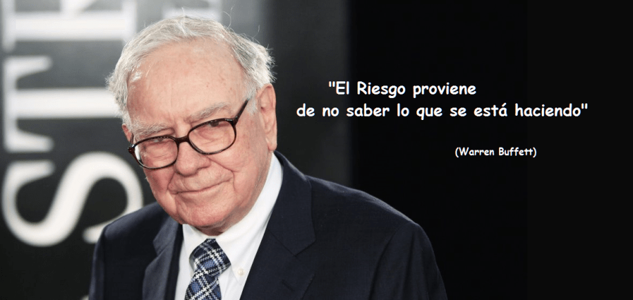 Frases de Warren Buffett.