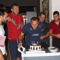 Fatih İnce'ye doğum günü kutlaması