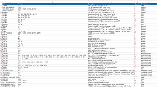 small resolution of export des nomenclatures mat riel au format excel dans elecworks