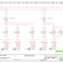 Electrical Control Panel Wiring Diagram 2002 Mitsubishi Galant Radio Design Software Elecworks