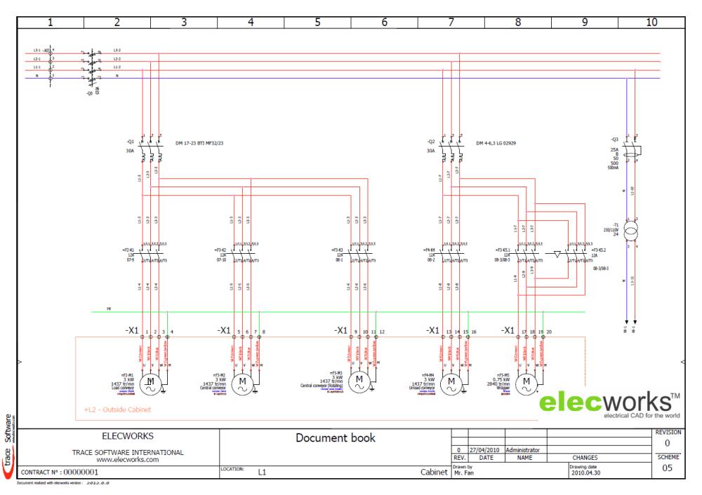 medium resolution of electrical design software elecworks u2122 traffic light plc ladder diagram motor control ladder diagrams