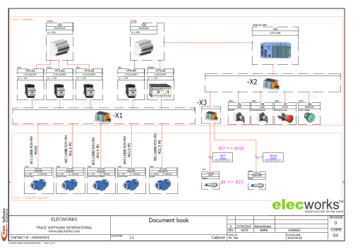small resolution of wiring diagram in elecworks