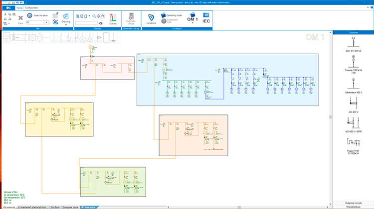 Electrical One Line Diagram Trace Software International