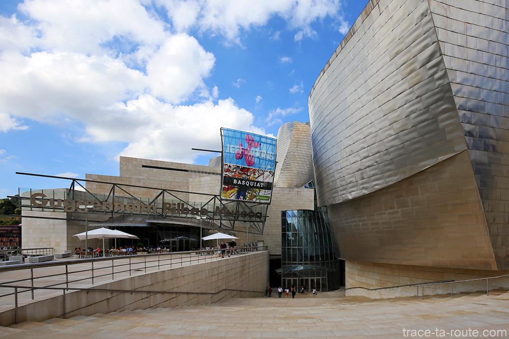 Le Muse GUGGENHEIM de BILBAO architecture stupfiante dune sculpture monumentale  Blog