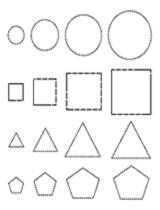Arabic Urdu English Math trace sheets & free worksheets