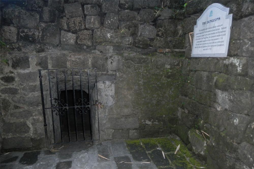 dungeon of fort santiago