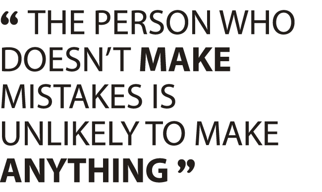 Image result for paul arden mistakes quote