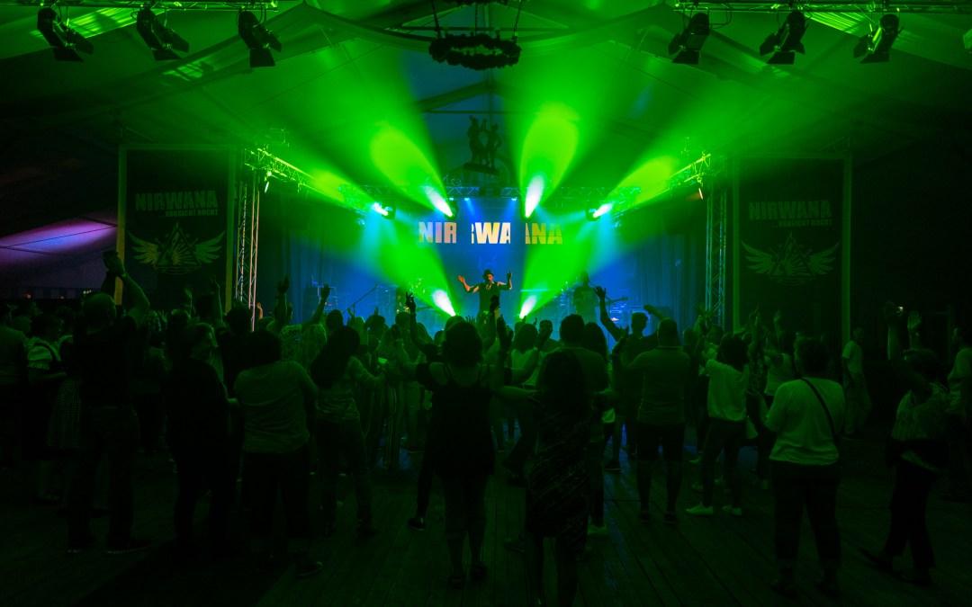Partyband Nirwana rockt den Samerberg