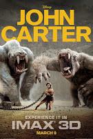 John Carter of Mars movie poster