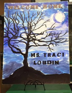 Welcome Home Ms Traci Loudin - When All Is Lost poster