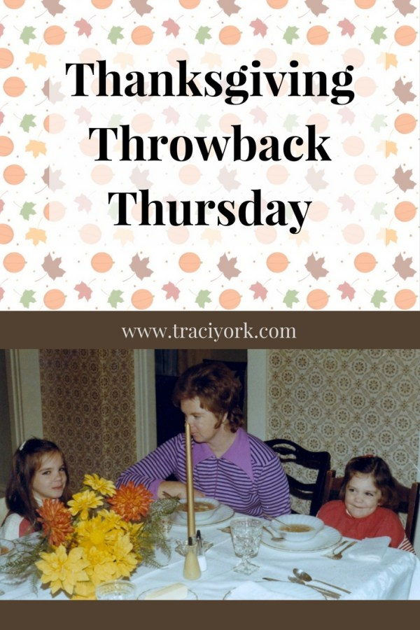 Thanksgiving Throwback Thursday