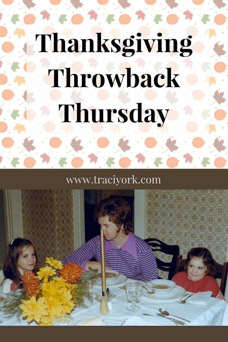 Thanksgiving Throwback Thursday