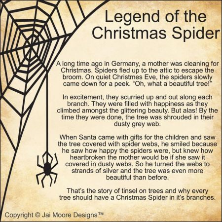 Legend of the Christmas Spider by Jai Moore Designs