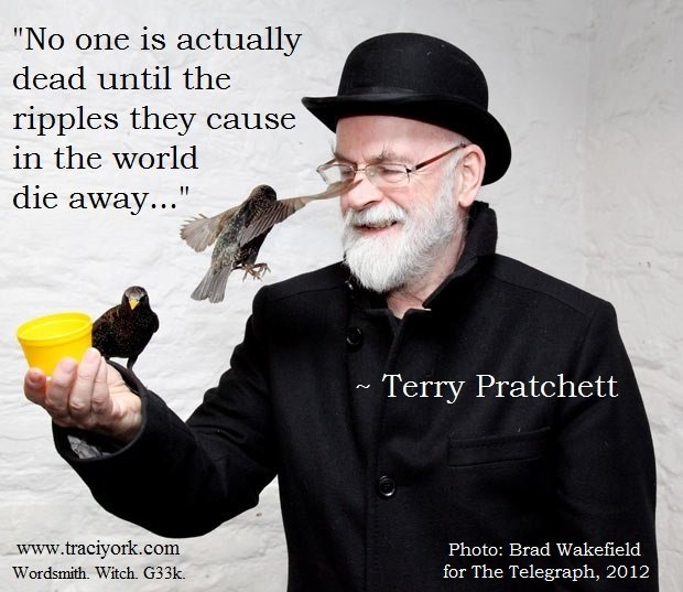 GNU Sir Terry Pratchett ripple quote