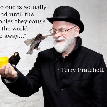 Pratchett ripple quote