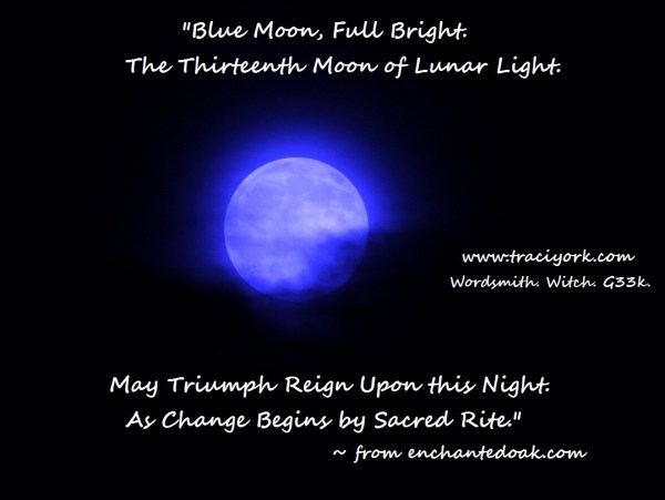 Blue Moon Chant