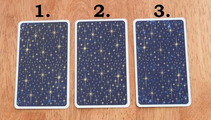 Tarot card reading May 2016, back