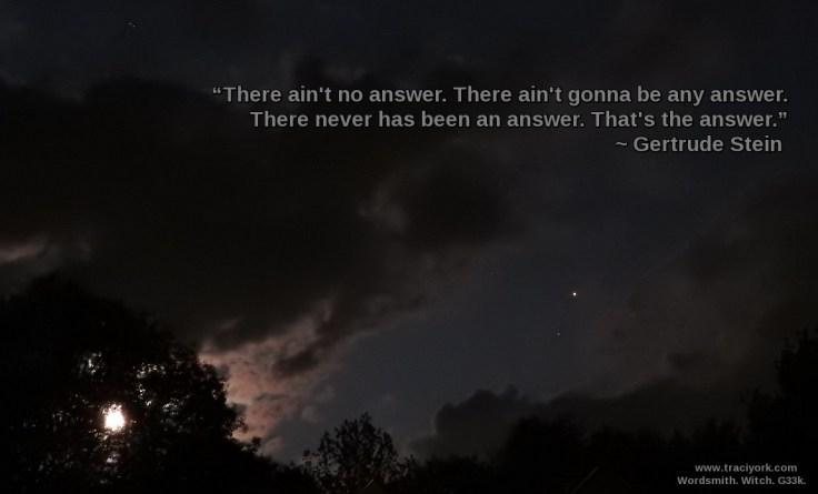 Quote Challenge Week Two Gertrude Stein