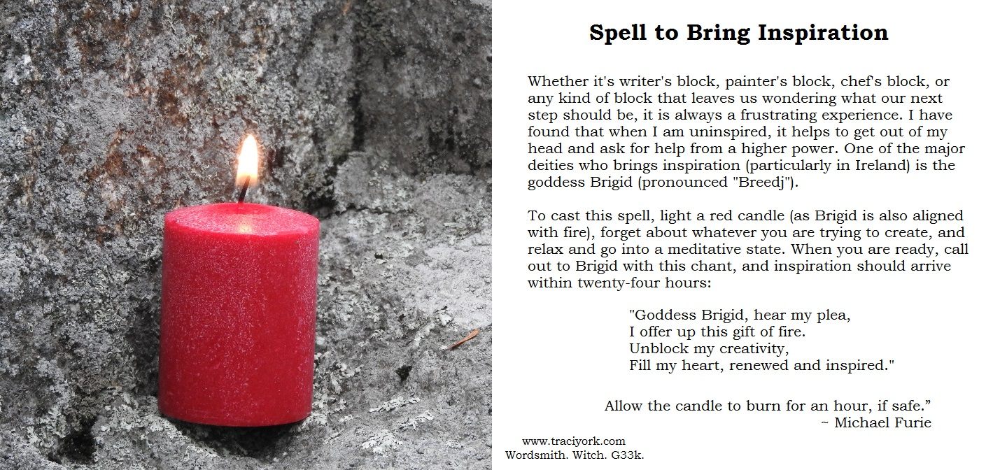 Witchy Wednesday – Inspiration Spell