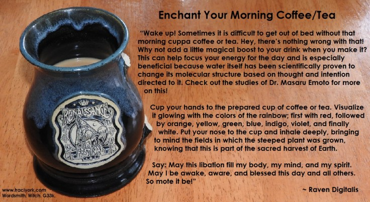 Enchanting Coffee spell