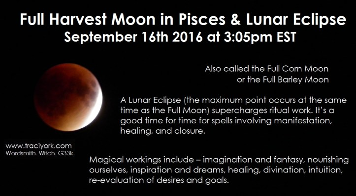 Full Pisces Moon & Lunar Eclipse