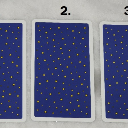 November 29th Free Tarot Card Reading, back