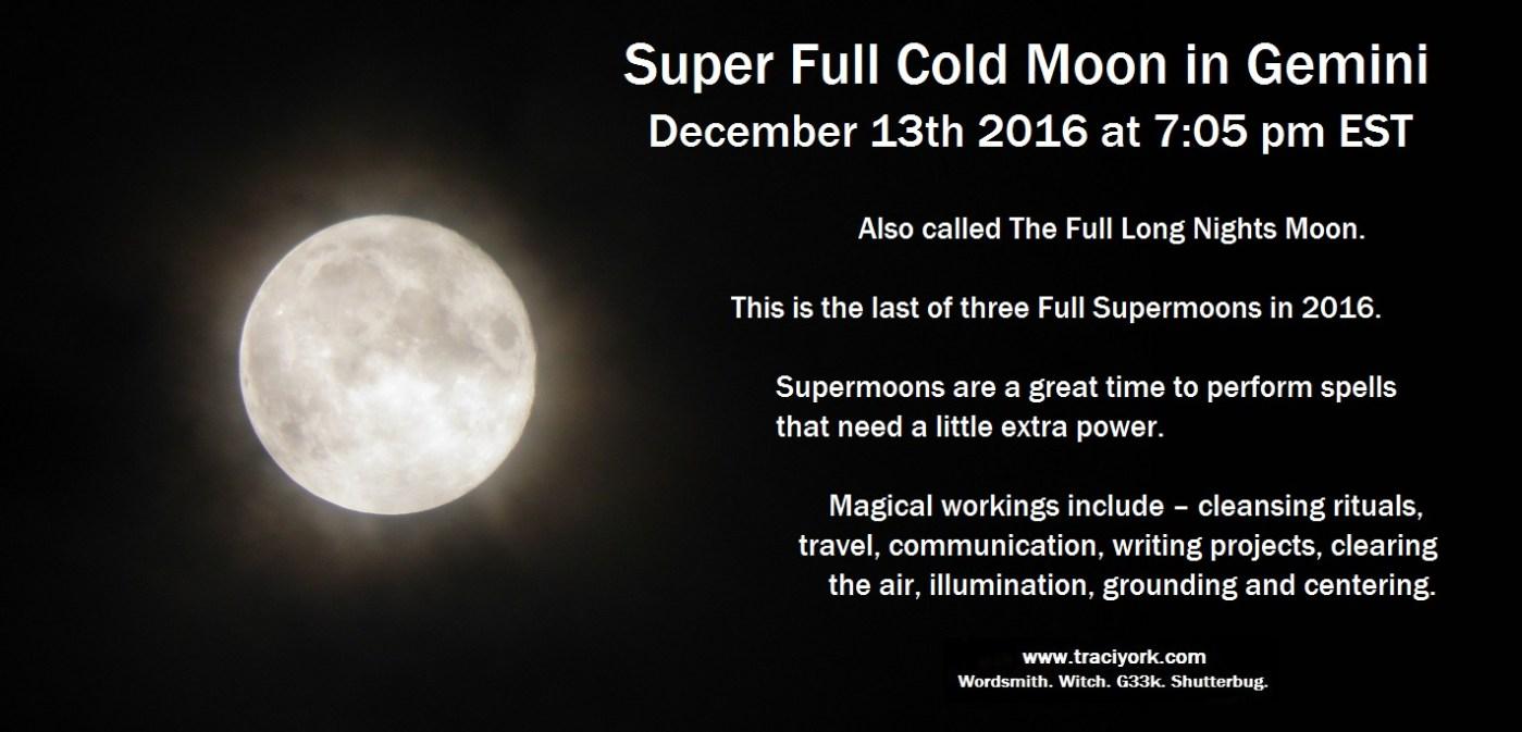 Super Full Gemini Moon