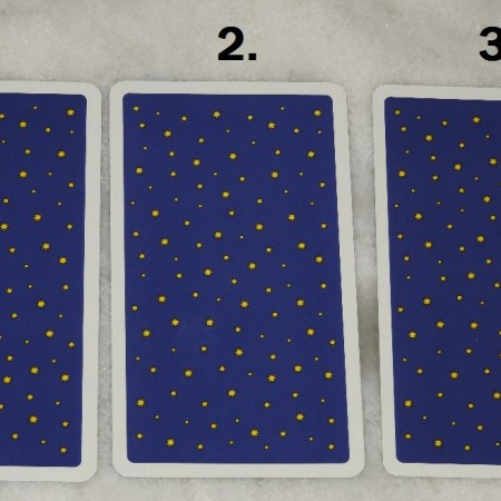 December 6th Free Tarot Card Reading, back